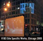 v1v3 site specific work Chicago 2005